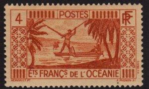 French Polynesia 83 Spear Fishing 1934