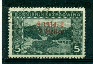 Bosnia & Herzegovina 1914 #B1a U SCV(2020)=$3.75