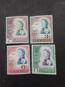*Gambia #168-171*