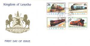 Lesotho Scott 969, 971, 973, 976 Unaddressed.