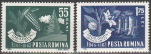 Romania #1580-81  MNH F-VF  (SU5425)