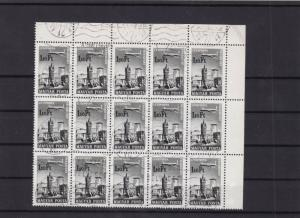 hungary budapest cancelled part  stamps sheet ref 11309