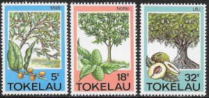 Tokelau MNH 114-9 Trees Fruit & Herbs 2 Scans