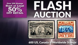 Flash Stamp Auction #141