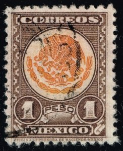 Mexico #719 Coat of Arms; Used (3Stars)