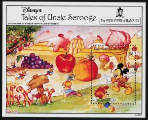 St Vincent Grenadines 979 MNH Disney, The Pied Piper of Hamelin
