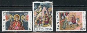 Cyprus MNH 429-31 Christmas 1974