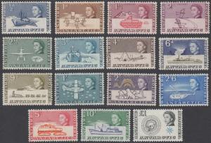 British Antarctic Territories 1-15 MLH CV $169.55