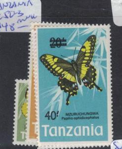 Tanzania Butterfly SC 50-3 MNH (6dpr)