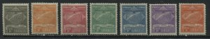 Brazil 1927 Condor Syndicate Airmail set mint o.g. hinged
