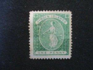 Virgin Islands #9 Used WDWPhilatelic (J8N6)