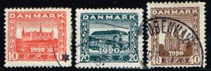Denmark # 156 - 158  U