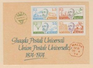 Malta Scott #487a Stamp - Mint NH Souvenir Sheet