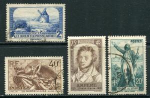 France Lot 6606 RF Postes 1936 YVERT 310 MNH 311 314-5 Stamps