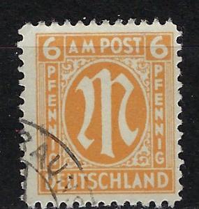 Germany AM Post Scott # 3N5, used