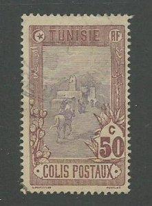 Tunisia Scott Catalog Number Q6  Issued in 1906