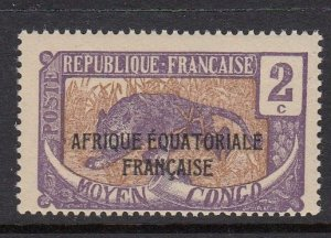 Middle Congo 24 Leopard MNH