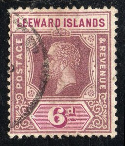 Leeward Islands Sc #75 (Die II) Used