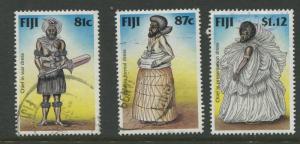Fiji - Scott 806-808 - General Issue -1998 - FU - Short Set of 3 Stamps