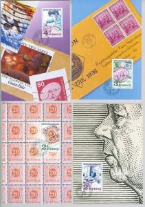 Sweden. Maximum Card. 4 Diff  Stockholmia 86 IV 1986. Engraver: Lars Sjooblom