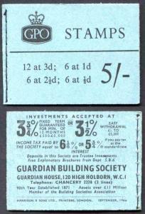 H46g September 1960 5/- Graphite Booklet