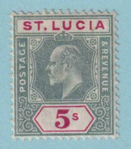 ST LUCIA 56  MINT HINGED OG * NO FAULTS VERY FINE!