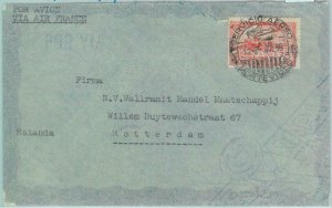86112 - URUGUAY - POSTAL HISTORY -  AIRMAIL  COVER to NETHERLANDS 1938 AirFrance