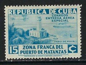 CUBA CE1 MOG LIGHTHOUSE C311