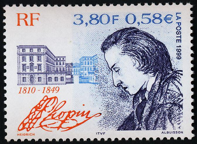 France 2744 MNH Frederic Chopin, Architecture
