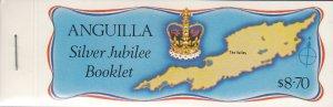 Anguilla, Sc 271-274. MNH, 1977, Silver Jubilee