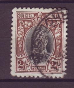 J20920 Jlstamps 1931-7 south rhodesia used #28 king