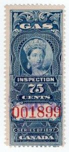 (I.B) Canada Revenue : Gas Inspection 75c