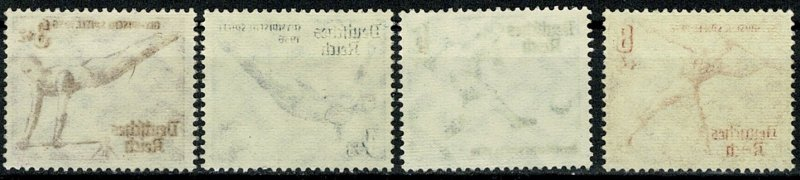 GERMANY 1936 FULL SET of 8 SG606-13 MH Wmk. w97 P.13.5 x 14 SUPERB CONDITION