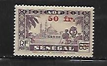 FRENCH WEST AFRICA, 3, MINT HINGED HINGE REMNANT, POSTAGE DUE STAMPS