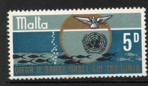 MALTA SG419 1969 OCEANIC RESOURCES   MNH