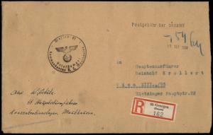 3rd Reich Austria 1938 Concentration Camp KL Mauthausen Gusen SS Cash Paid 81191