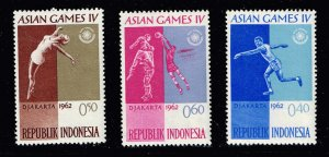 INDONESIA STAMP 1962 ASIAN GAME MNH STAMPS COLLECTION LOT