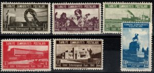 Turkey #863-8 MNH CV $5.40 (X7723)