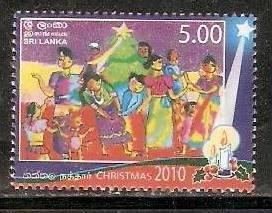 Sri Lanka 2010 Christmas Children's  MNH # 3392