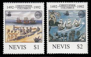 Nevis 736 - 737 MNH