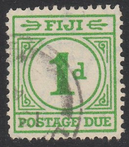 FIJI POSTAGE DUE 1940 1d SG D11 fine used - scarce used - cat £70...........A814