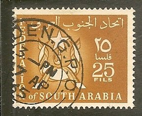 South Arabia   Scott 7   Arms   Used