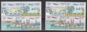 S. Vietnam Scott 420a-424a Mint hinged (Catalog Value $58.00)