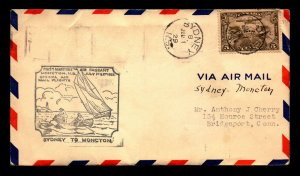 Canada 1929 FFC Sydney to Moncton / Very Light Creasing - L7948