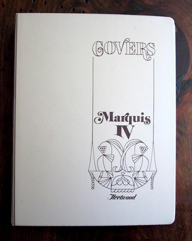 Fleetwood Marquis IV First Day Cover Album