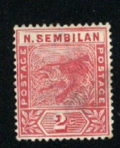 Malaya-Negri Sembilan #3  Mint  1891-94 PD