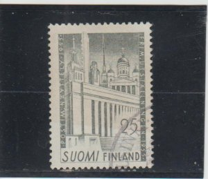 Finland  Scott#  326  Used  (1955 Composite of Public Buildings)