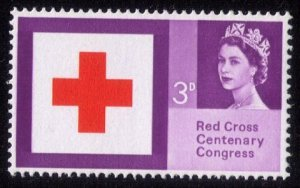 Great Britain Sc #398 MNH 3P RED CROSS  F-VF
