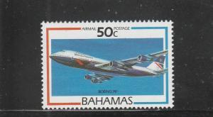 Bahamas  Scott#  C8  MNH  (1987 Aircraft)