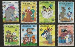 Lesotho (1985)  - Scott # 502 - 509,  MNH
